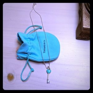 Tiffany Key Necklace